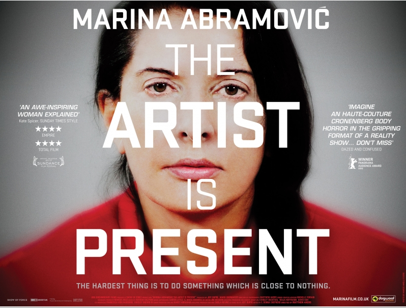 Film marina abramovic the artist is present culturefix tonight i went to the ica to see the film marina abramovic the artist is present an intensely moving portrait of the yugoslav born artist and her thecheapjerseys Image collections